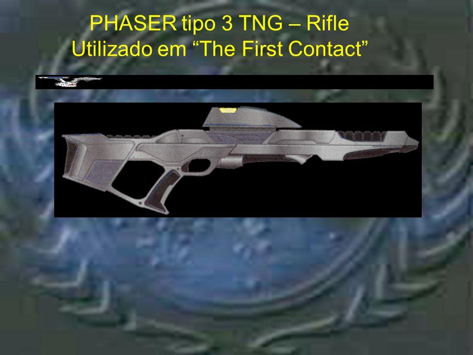 Phaser tipo 3 VOY – Rifle PHASER tipo 3 Voy – Rifle Utilizado nos episódios
