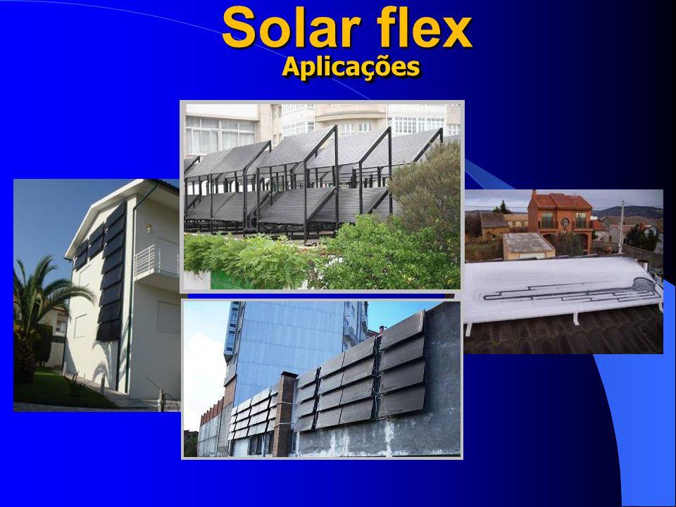 Solar flex AplicaçõesAplicações