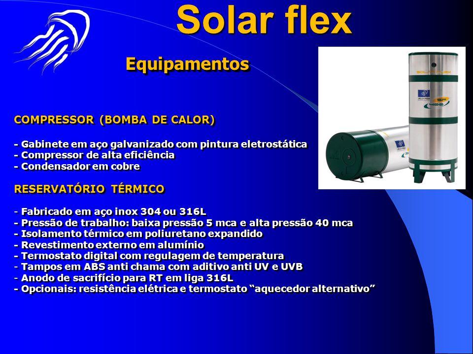 COMPRESSOR (BOMBA DE CALOR) - Gabinete em aço galvanizado com pintura eletrostática - Compressor de alta eficiência - Condensador em cobre RESERVATÓRI