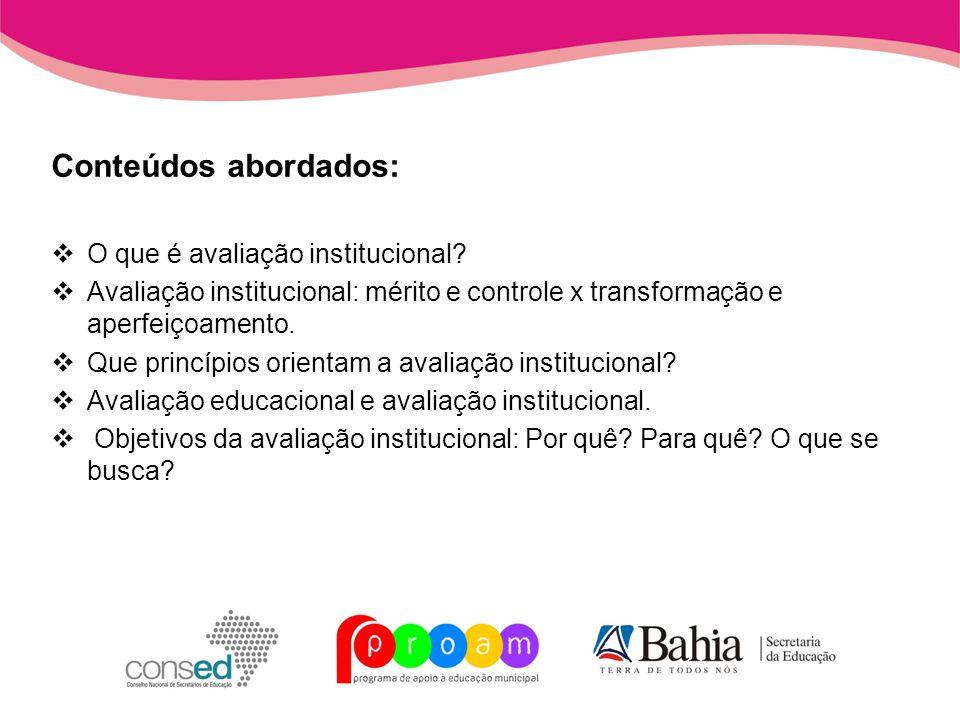 Unidade 2 Quais os processos metodológicos e as etapas de operacionalização da avaliação