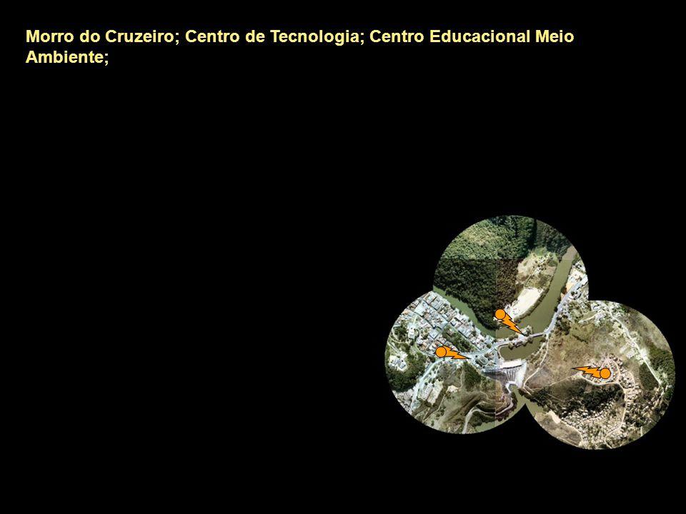Morro do Cruzeiro; Centro de Tecnologia; Centro Educacional Meio Ambiente; Secretaria da Saúde;