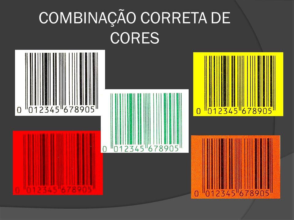 COMBINAÇÃO CORRETA DE CORES