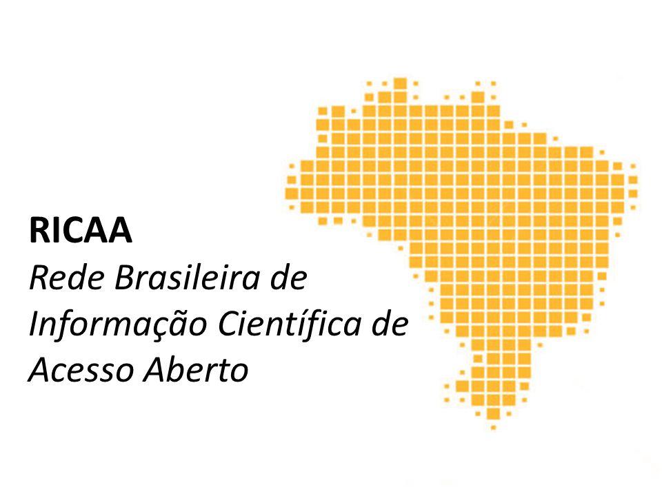 RICAA Rede Brasileira de Informação Científica de Acesso Aberto