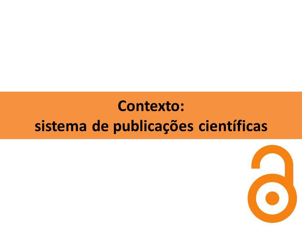 Contexto: sistema de publicações científicas