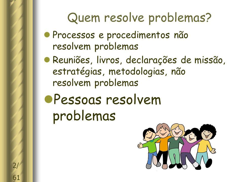 2/ 61 Quem resolve problemas.