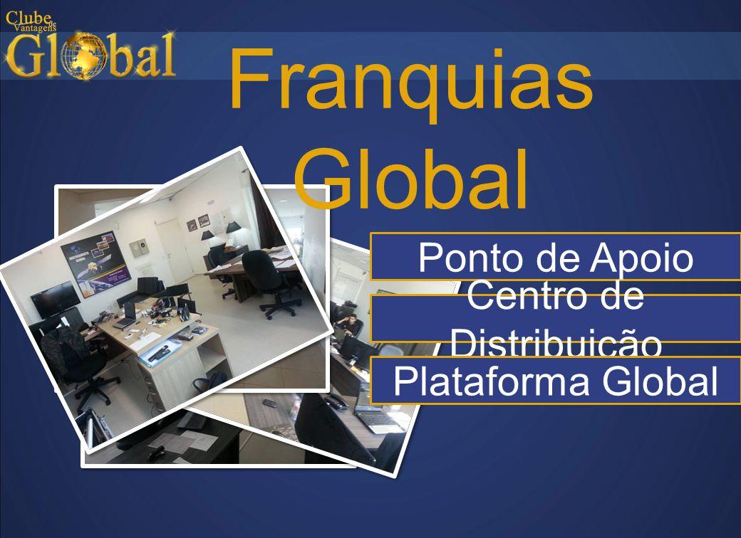 Franquias Global Ponto de Apoio Centro de Distribuição Plataforma Global