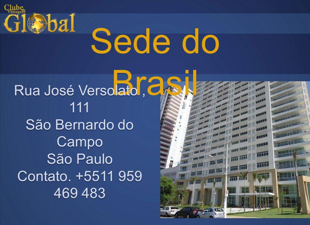 Sede do Brasil Rua José Versolato, 111 São Bernardo do Campo São Paulo Contato. +5511 959 469 483