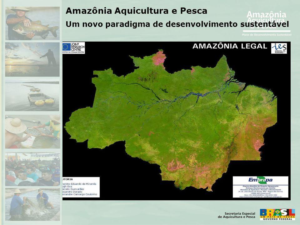 Amazônia Aquicultura e Pesca Um novo paradigma de desenvolvimento sustentável