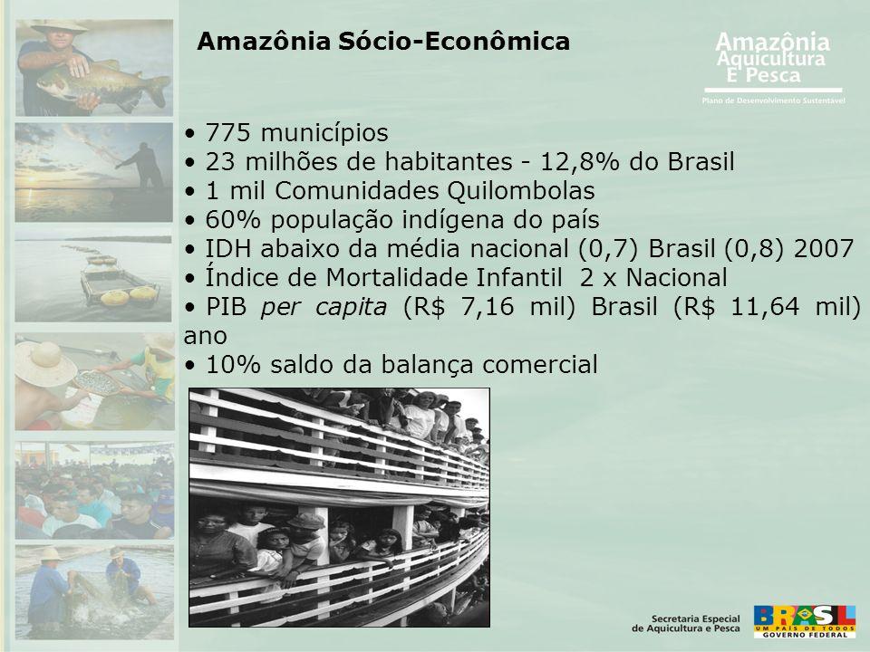 • 775 municípios • 23 milhões de habitantes - 12,8% do Brasil • 1 mil Comunidades Quilombolas • 60% população indígena do país • IDH abaixo da média n
