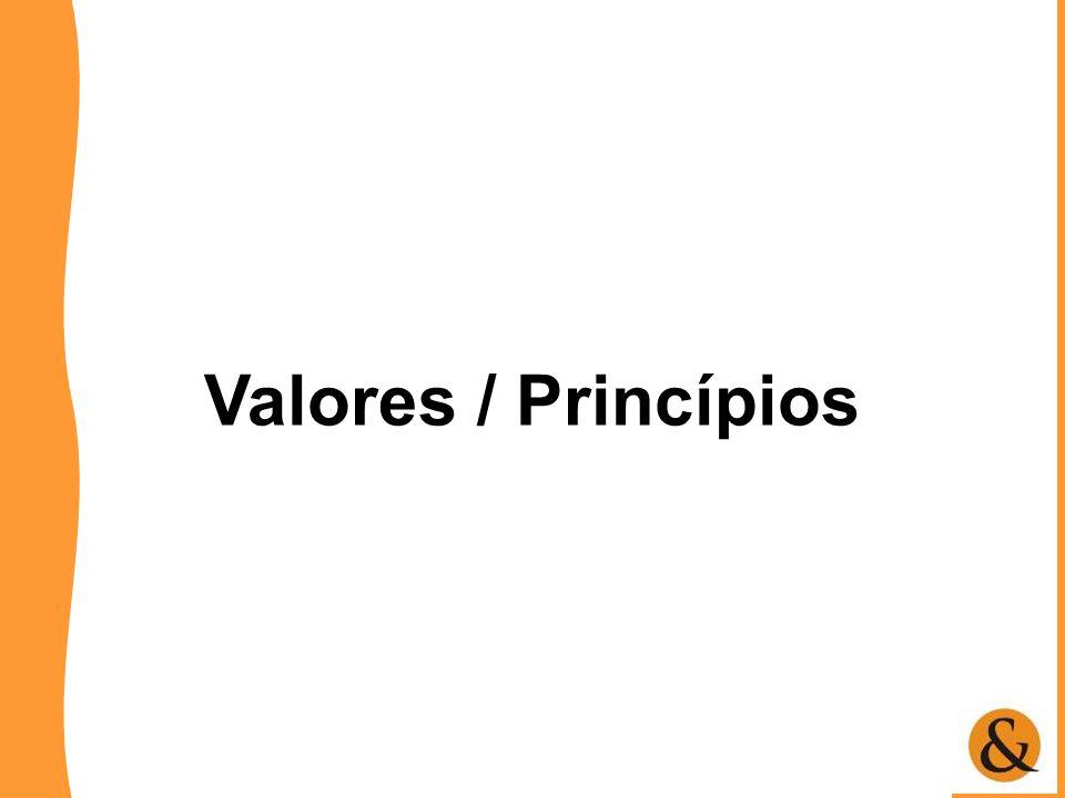Valores / Princípios