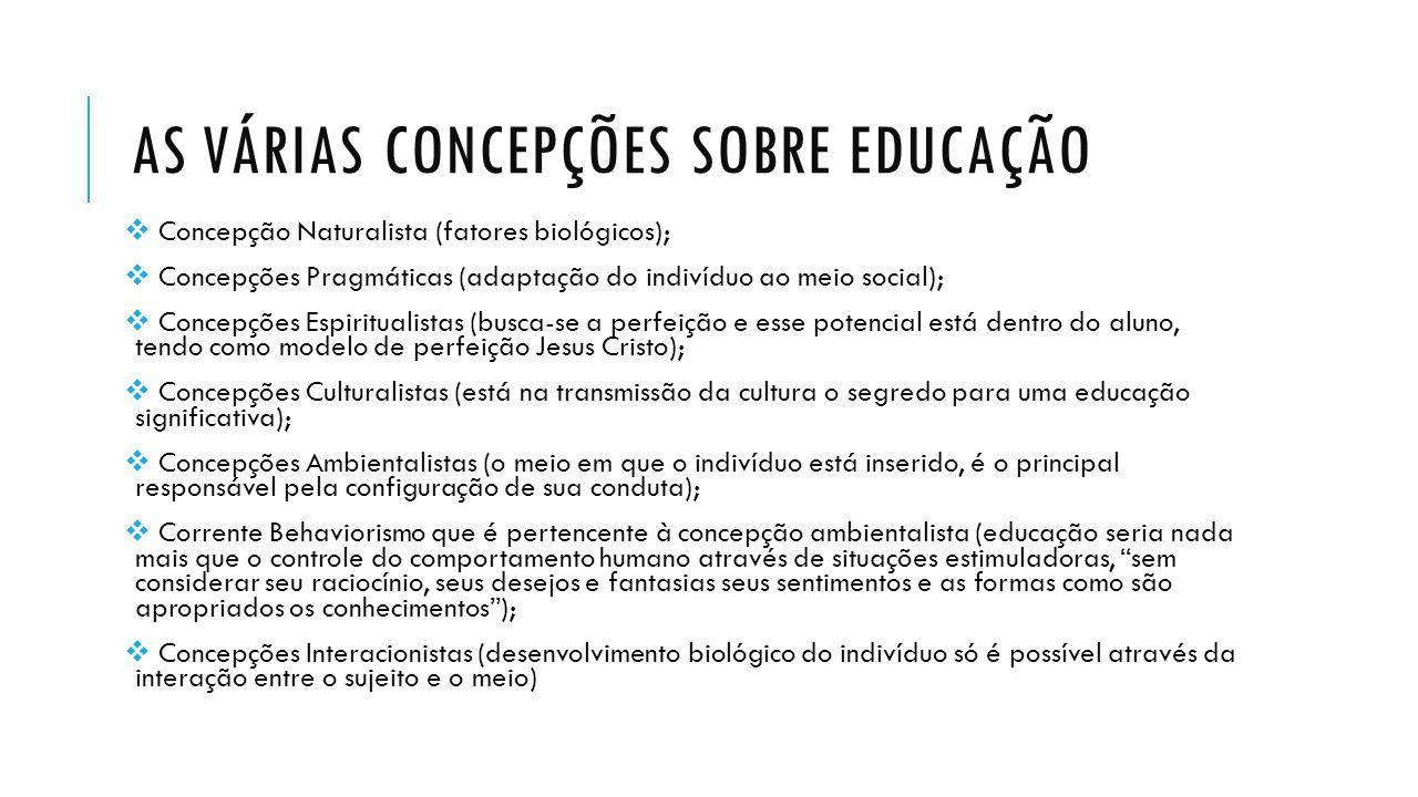 QUAL A INFLUÊNCIA DESSA TRANSFORMAÇÃO NA EDUCAÇÃO BRASILEIRA.