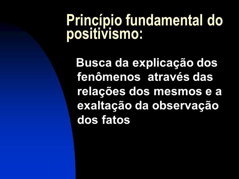 Ênfase na especialização Diz não ser possível à capacidade humana, o ensino de todas as disciplinas em separado