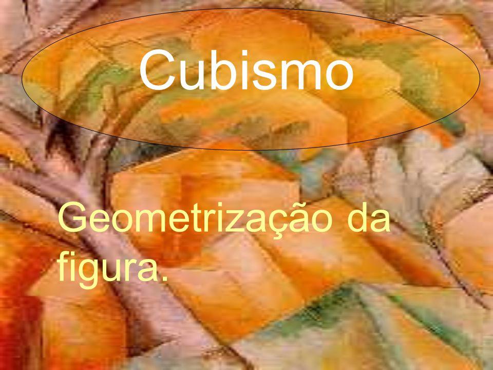 Geometrização da figura. Cubismo