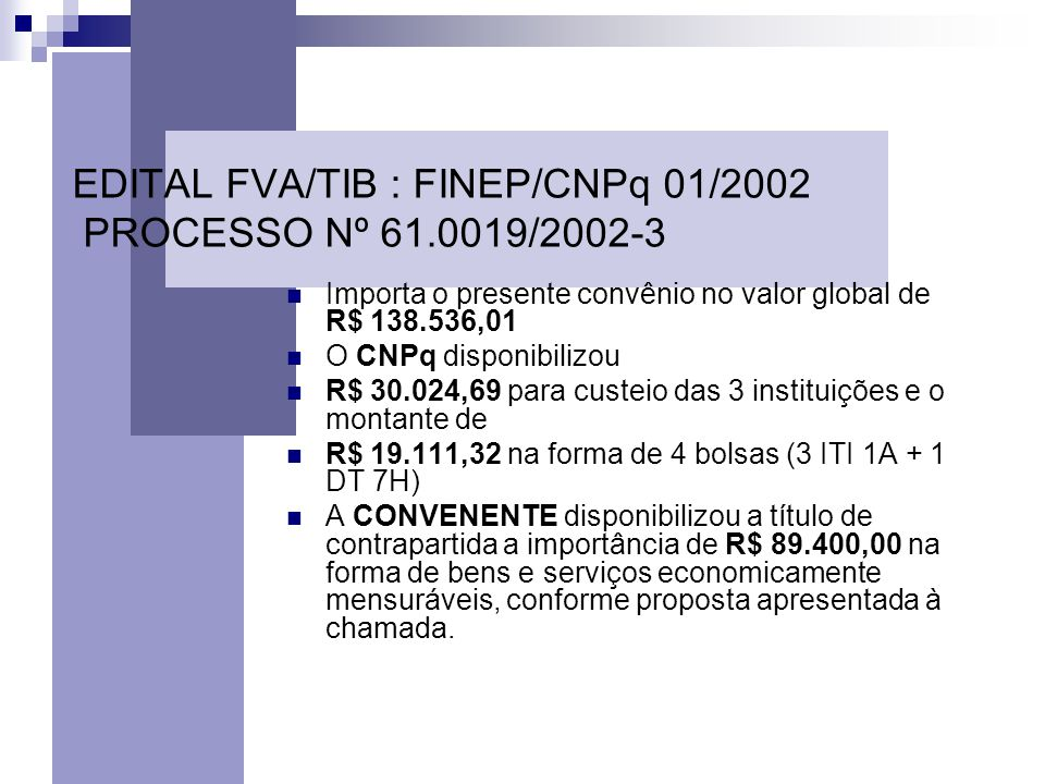 34 Portal de Relacionamento da UFPR Escritório de Transferência de Tecnologia