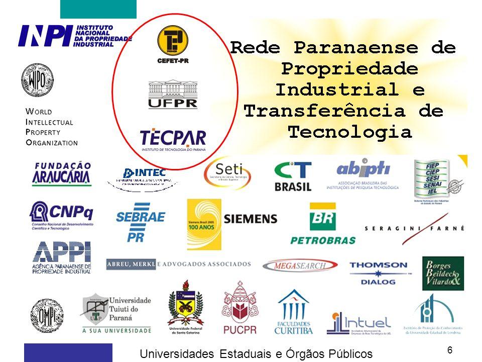 6 Universidades Estaduais e Órgãos Públicos