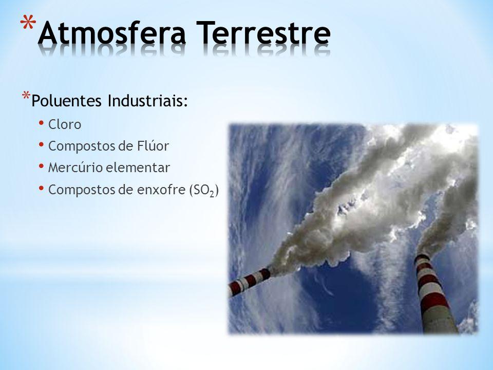 * Efeito Estufa: retenção de calor junto a superfície terrestre; * Gases de efeito estufa regulam o equilíbrio térmico, possibilitando uma temperatura média de 15ºC.