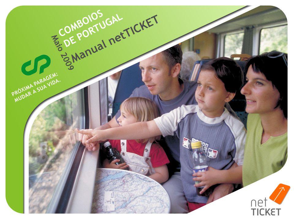 Maio 2009 Manual netTICKET COMBOIOS DE PORTUGAL