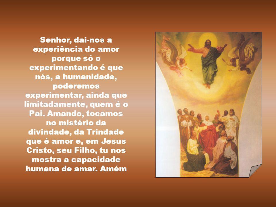 """""""Se alguém disser: """"Amo a Deus"""", mas odeia seu irmão, é mentiroso. Com efeito, quem não ama seu irmão, a quem vê, não pode amar a Deus, a quem não vê."""