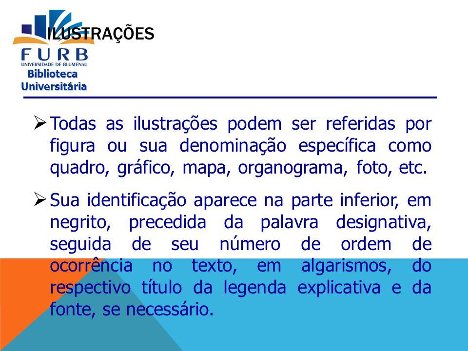 Biblioteca Universitária Universitária FORMA DE APRESENTAÇÃO DA AUTORIA DAS CITAÇÕES  Instituição Universidade de São Paulo (2000, v.