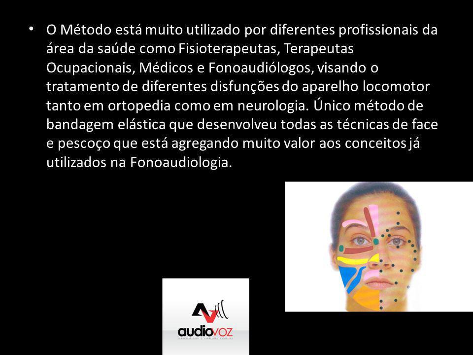• O Método está muito utilizado por diferentes profissionais da área da saúde como Fisioterapeutas, Terapeutas Ocupacionais, Médicos e Fonoaudiólogos,
