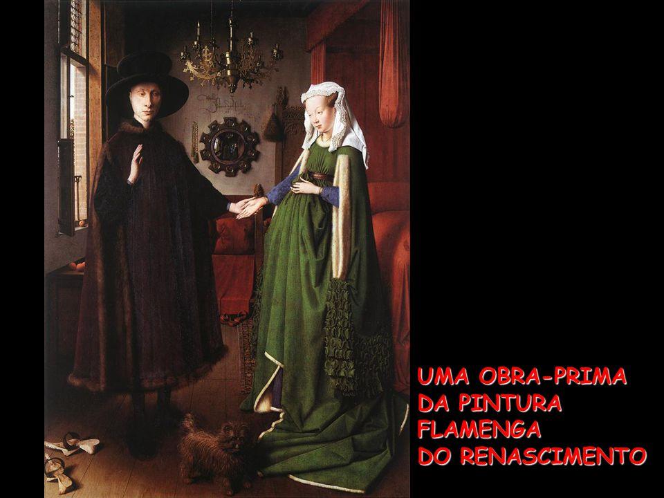 A Virgem do Chanceler Rolin (1435) Nicolas Rolin, Chanceler da Borgonha (o Doador, que encomendou o quadro)