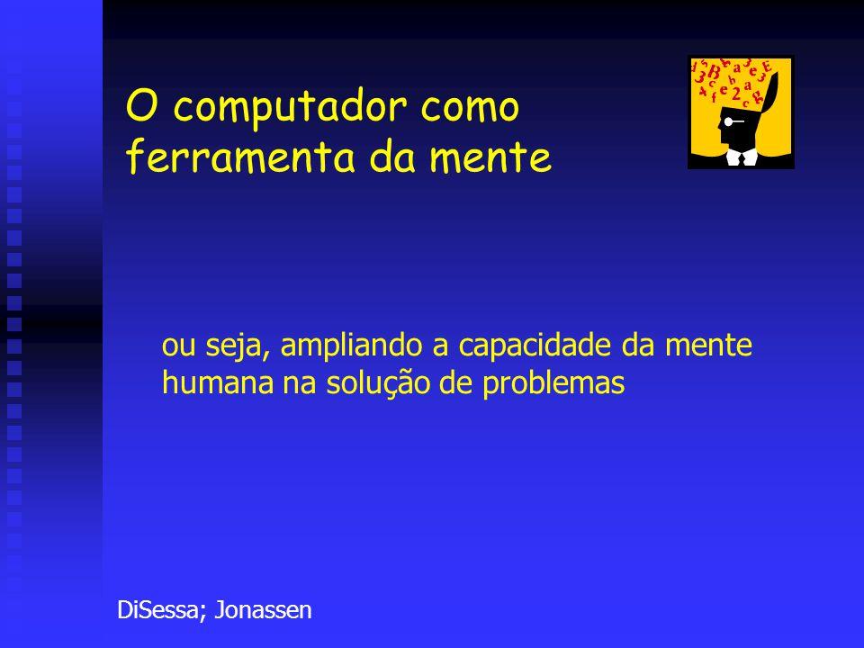 eav@if.ufrgs.br Já em 1974, Olson argumentava: quase toda a forma de cognição humana requer que se trabalhe produtiva e imaginativamente com alguma tecnologia.