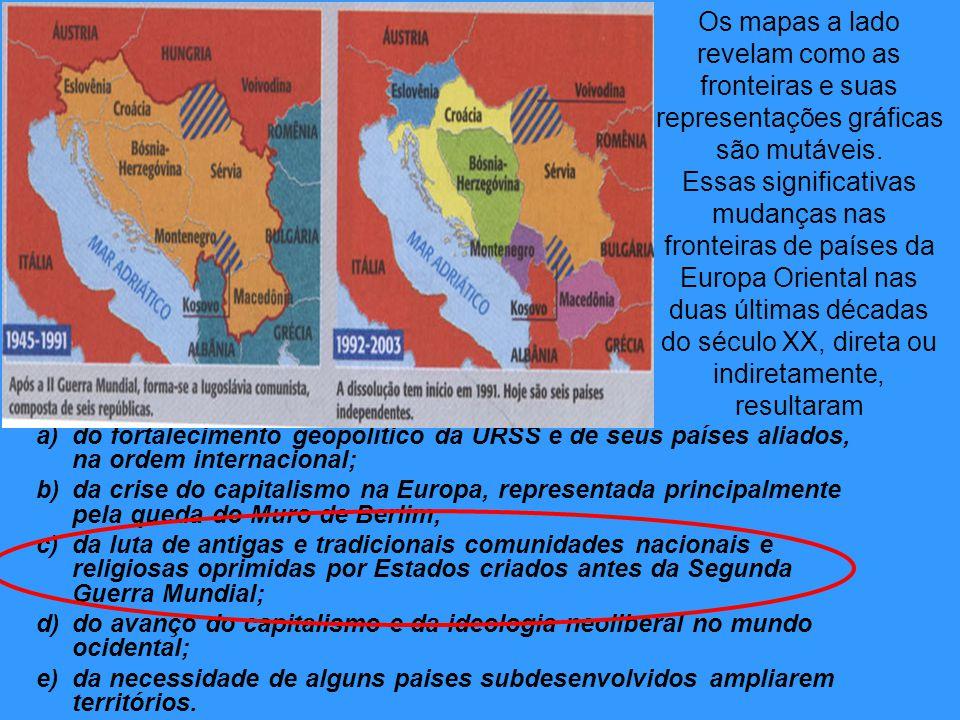 a)do fortalecimento geopolítico da URSS e de seus países aliados, na ordem internacional; b)da crise do capitalismo na Europa, representada principalm