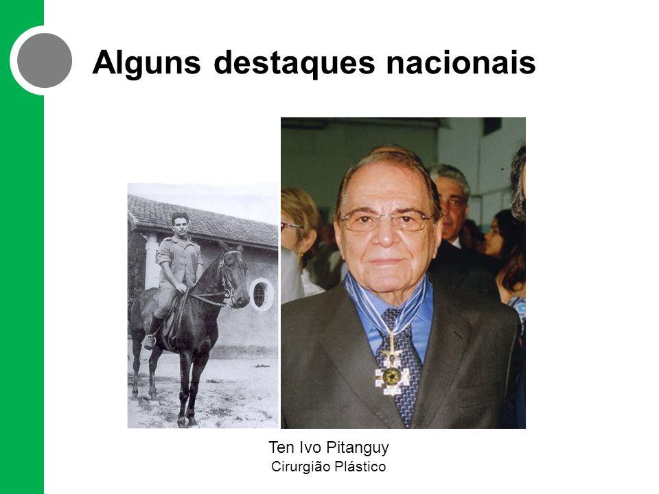 Alguns destaques nacionais Ten Ivo Pitanguy Cirurgião Plástico