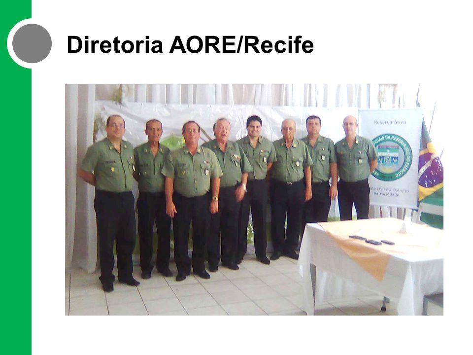 Ex-alunos do CPOR do Recife Cel PM Romero Ribeiro Secretário de Ressocialização de Pernambuco