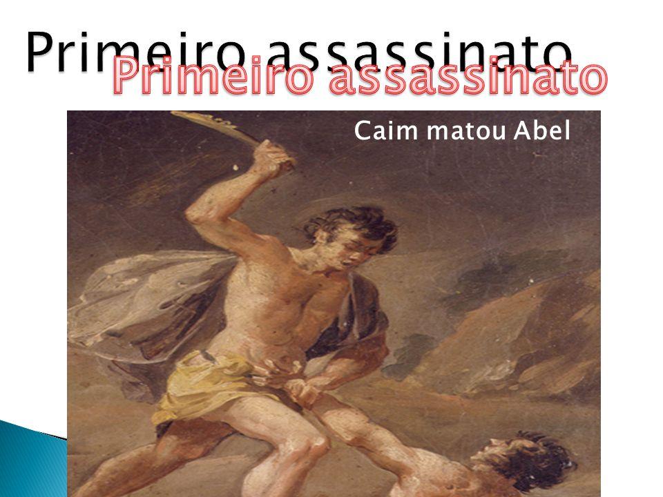 Caim matou Abel