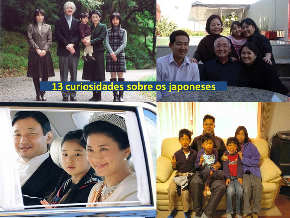 13 curiosidades sobre os japoneses