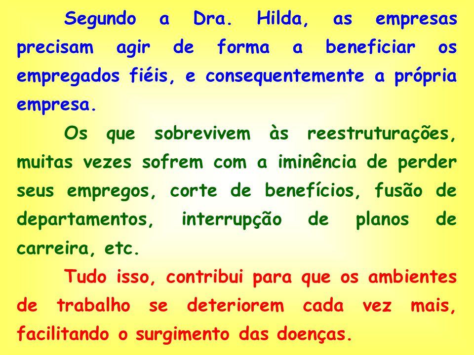Desde o ano passado, a legislação brasileira já reconhece o estresse, a depressão e o alcoolismo como doenças ocupacionais. Impõe-se agora traçar estr