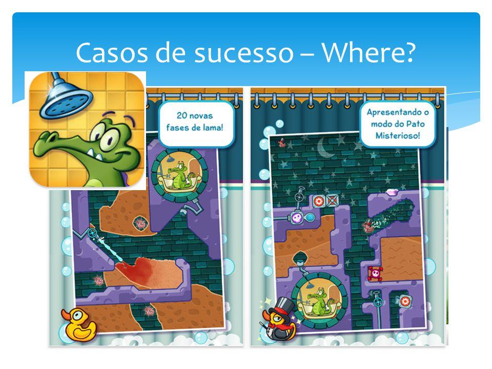 Casos de sucesso – Where?