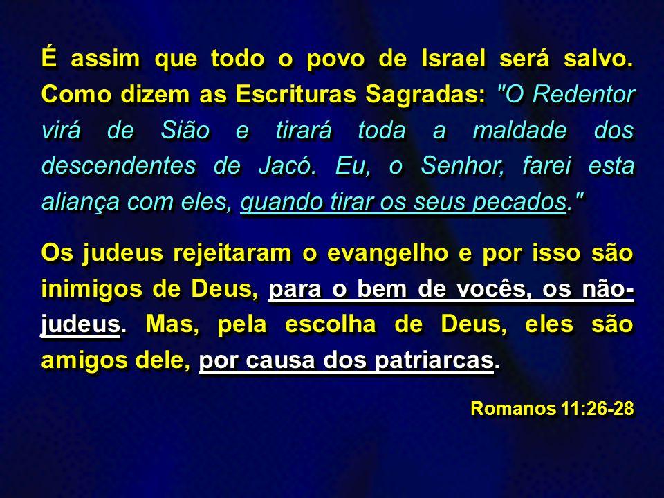 A Misericórdia de Deus para com Todos