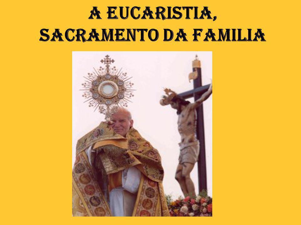 2. A Eucaristia: mistério da presença sacramental