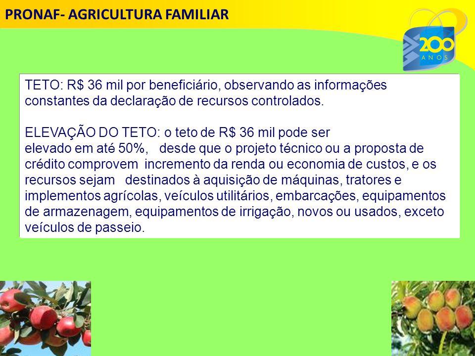 TETO: R$ 36 mil por benefici á rio, observando as informa ç ões constantes da declara ç ão de recursos controlados.
