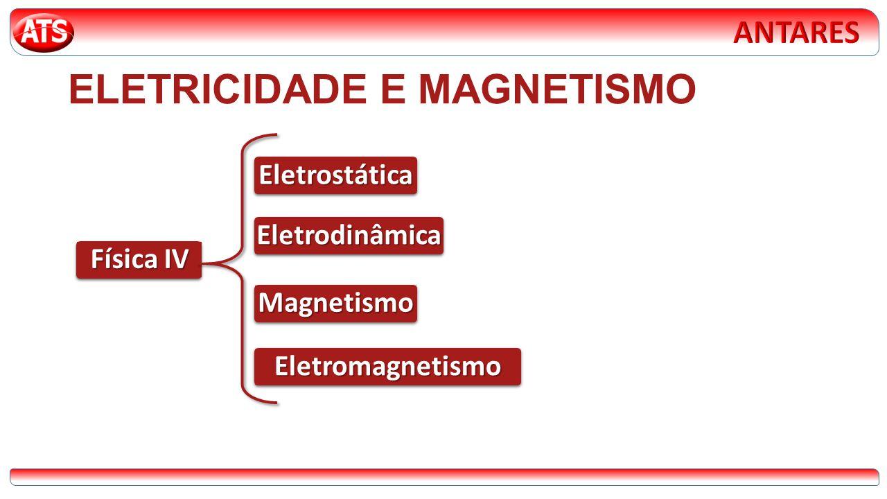 ELETRICIDADE E MAGNETISMO Física IV Eletrostática Eletrodinâmica Magnetismo Eletromagnetismo