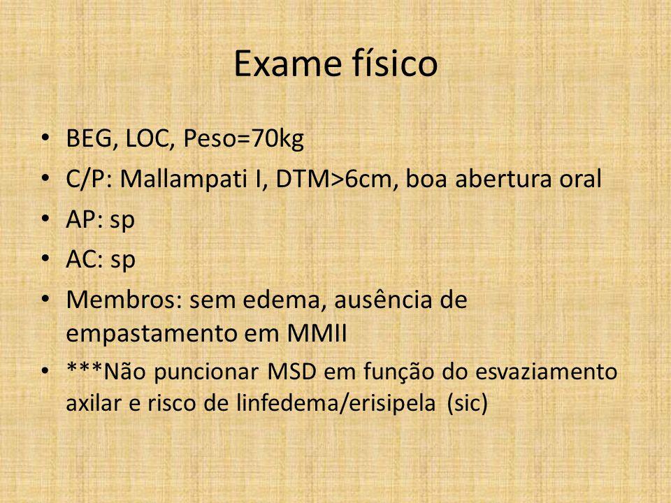 Tema proposto Manejo de lesão miocárdica perioperatória