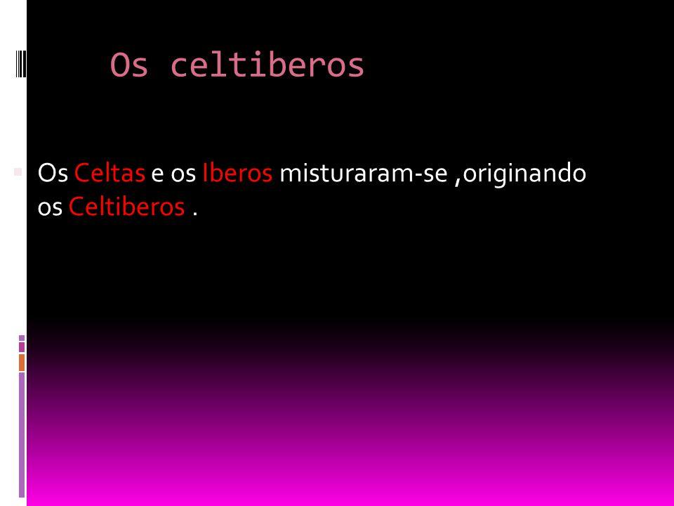 Os Lusitanos  Os Lusitanos viviam num território situado entre o rio Douro e Tejo, a Lusitânia.