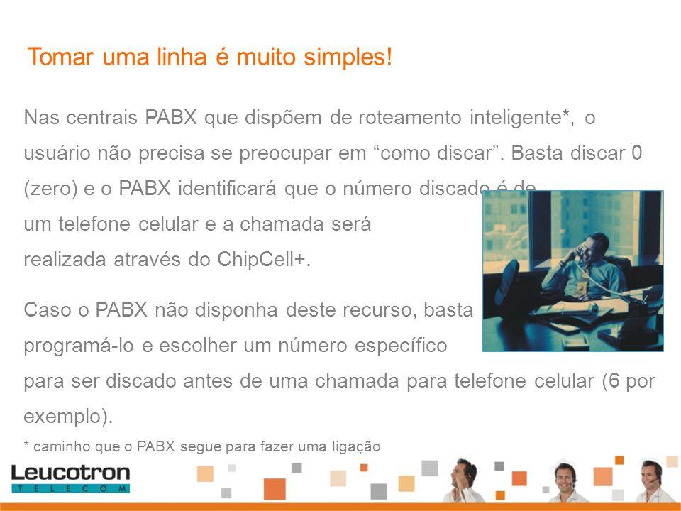 """Nas centrais PABX que dispõem de roteamento inteligente*, o usuário não precisa se preocupar em """"como discar"""". Basta discar 0 (zero) e o PABX identifi"""