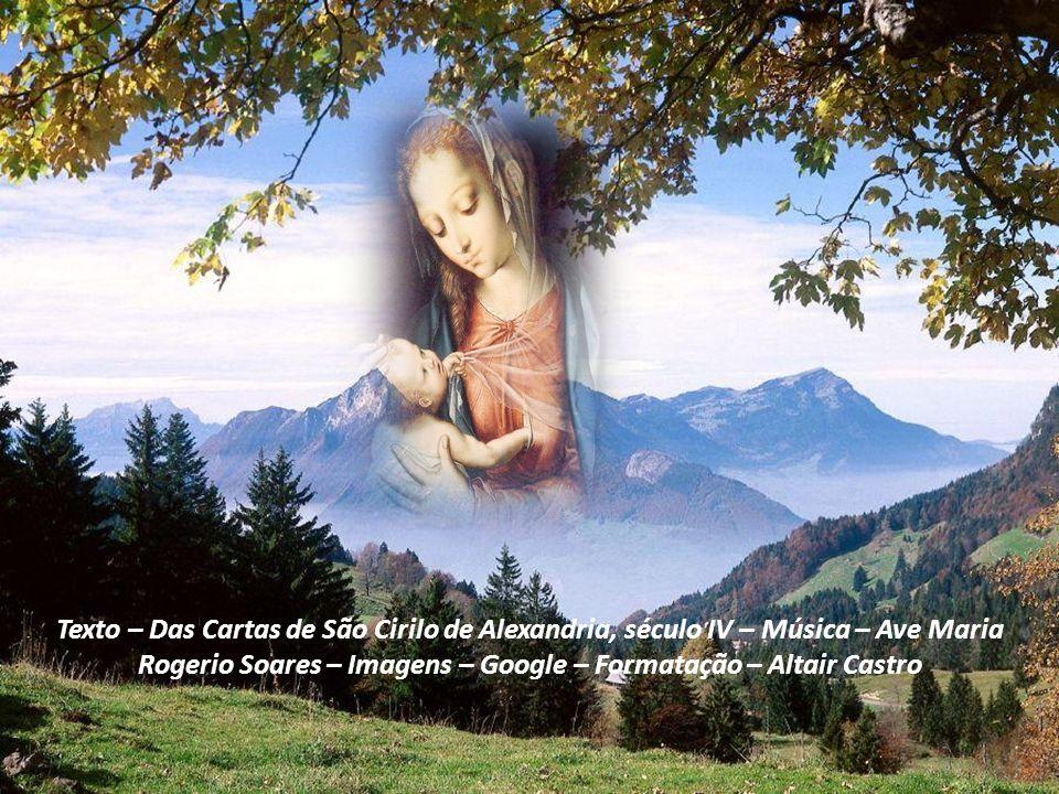 Responde depressa, ó Virgem! Pronuncia, ó Senhora, a palavra esperada pela terra, pelos infernos e pelos céus. O próprio Rei e Senhor de todos, tanto