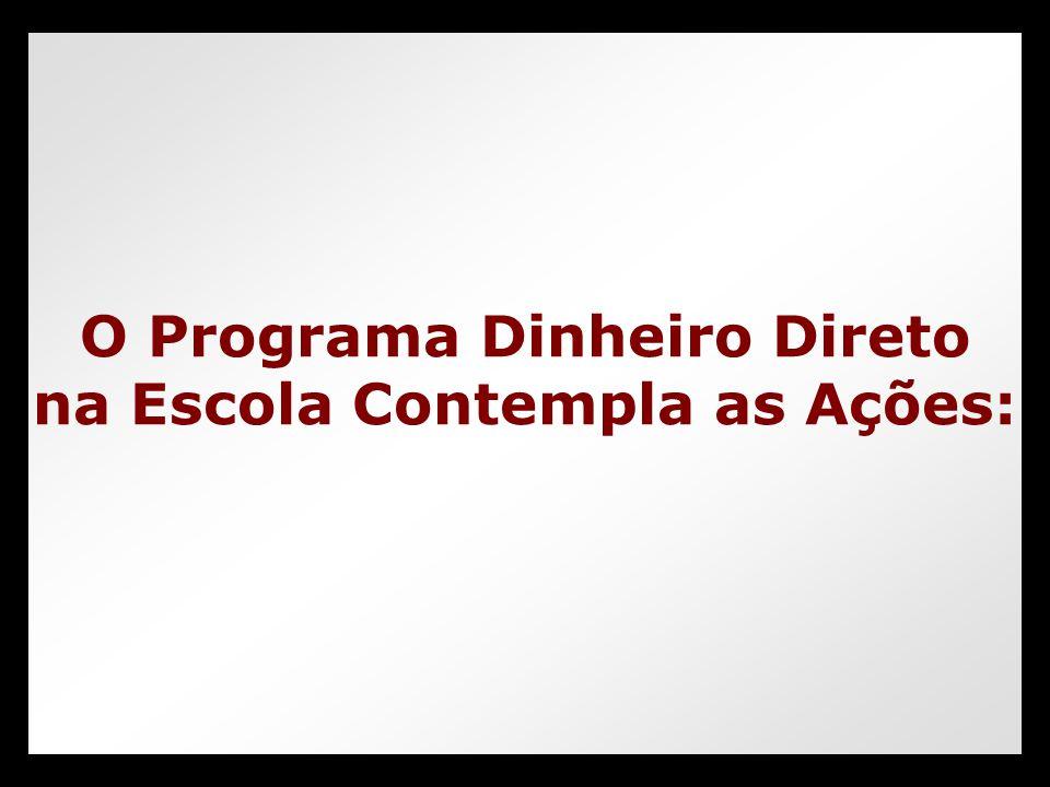 PDDERex Consulta Entidade (Unidade Executora Própria, Prefeitura Municipal, SEDUC e Entidade Mantenedora)