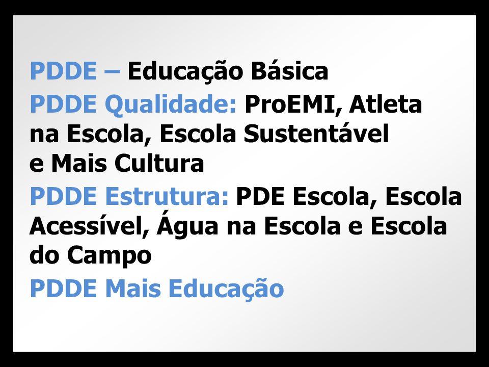 • Resolução CD/FNDE nº 31, de 22/07/2013: Dispõe sobre ProEMI – disponível no site www.fnde.gov.br • MEC/SEB/DICEI/COEM Documento Orientador ProEMI/2013 – disponível no site www.mec.gov.br Resoluções e Manuais