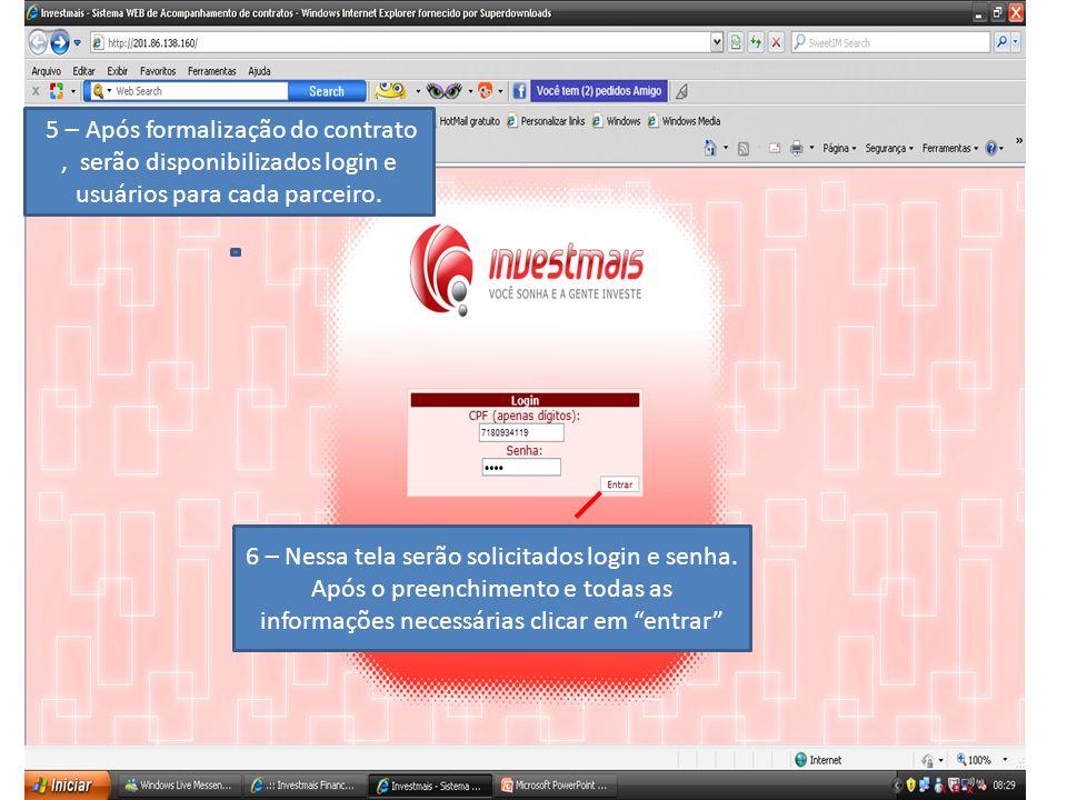 7 – Aba clientes Nessa tela o agenciador poderá consultar ou adicionar dados de cliente.