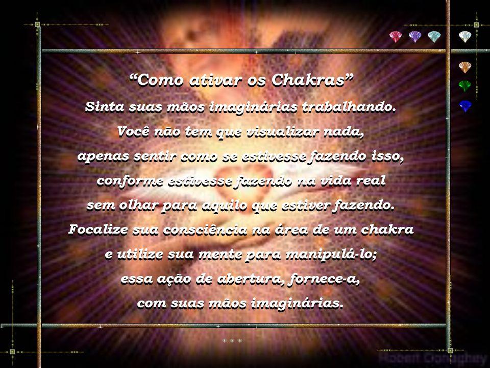 O sétimo é mais importante dos chakras, situa-se no alto da cabeça e relaciona-se com o padrão energético global da pessoa. Através dele recebemos a l