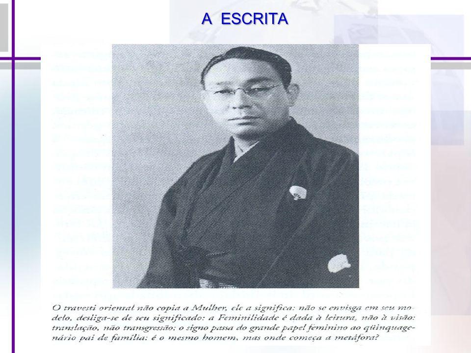A ESCRITA