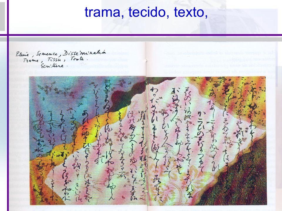 trama, tecido, texto,