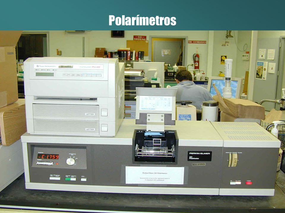Enantiômeros • Dextrógiro – Rotaciona o plano de polarização para a direita (+).