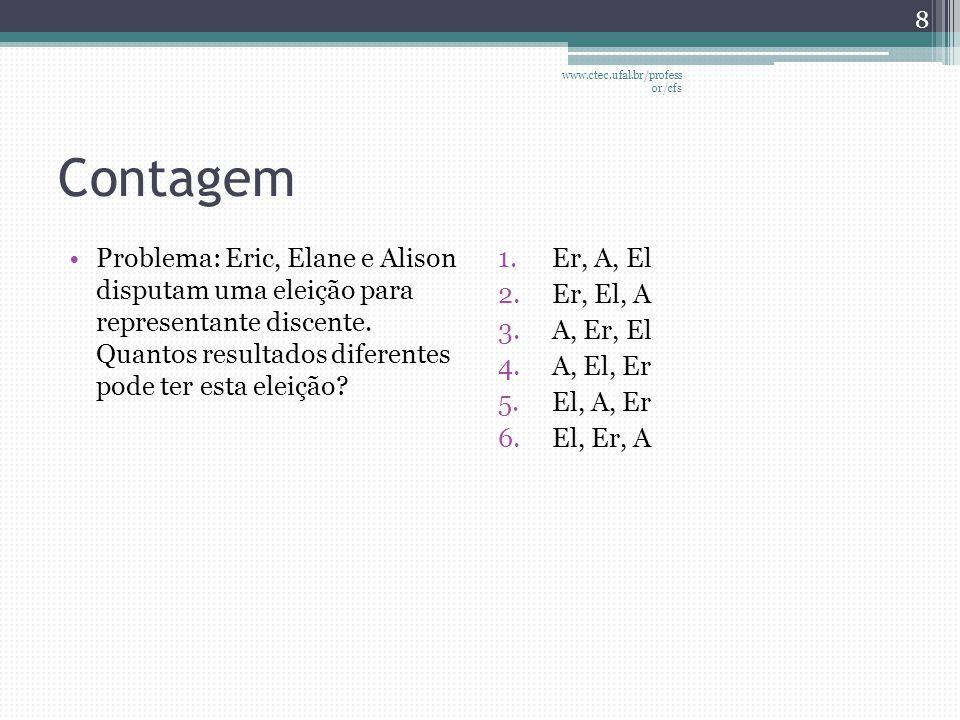 Probabilidade através de simulações •Conhecendo-se o processo (formulação conceitual) que descreve um fenômeno (e.g.