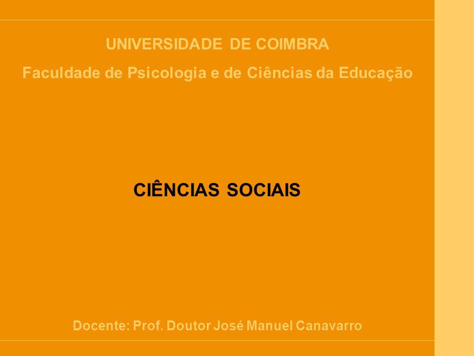 Introdução às Ciências Sociais 1.O que são as Ciências Sociais.